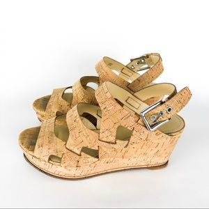 Donald J. Pliner Fran Cork Wedges